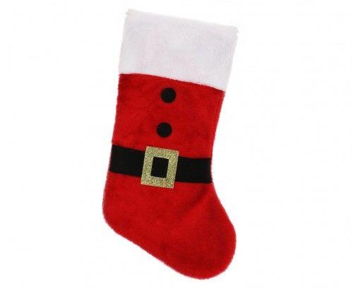 Skarpeta Świąteczna pluszowa