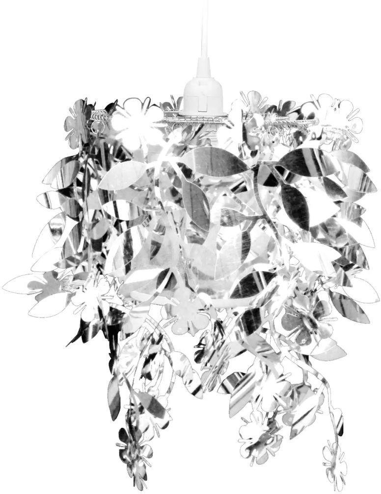 Srebrna lampa wisząca w kształcie liści - E989-Lesoti