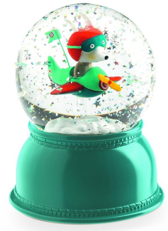 Kula śnieżna As przestworzy DD03407-Djeco, lampki nocne dla dzieci