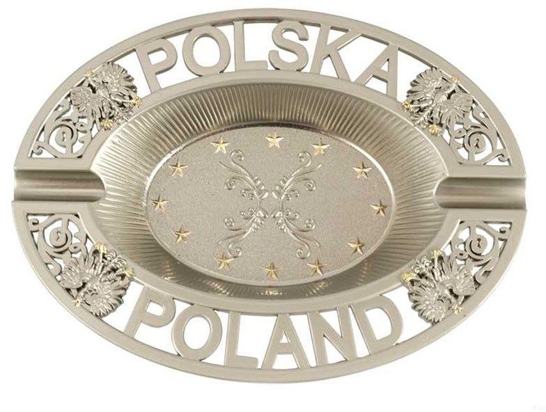 Popielniczka metalowa Polska