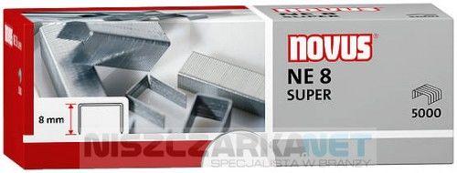 Zszywki do zszywaczy elektrycznych Novus NE8 SUPERx5000
