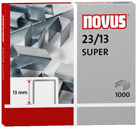 Zszywki do zszywaczy heavy duty23/13 SUPERx1000, wykonane z wysokiej jakości drutu
