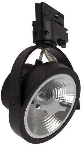 LUGAR BLACK track light 1xGU10 W Nowoczesnym stylu