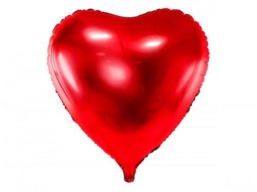Balon foliowy Mega Serce Czerwone