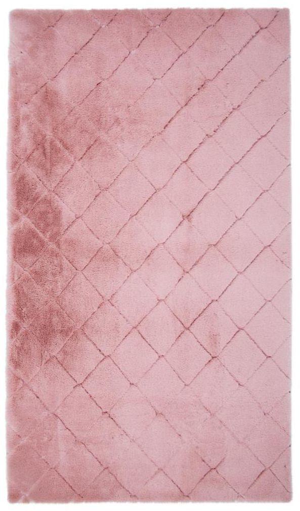 Dywan shaggy Modena różowy 60 x 100 cm