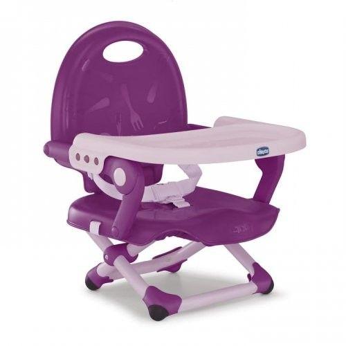 Chicco Pocket Snack krzesełko turystyczne kompaktowe Violetta
