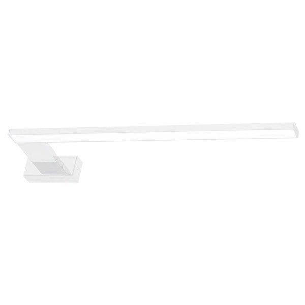 Biały kinkiet łazienkowy SHINE lewy 45cm LH