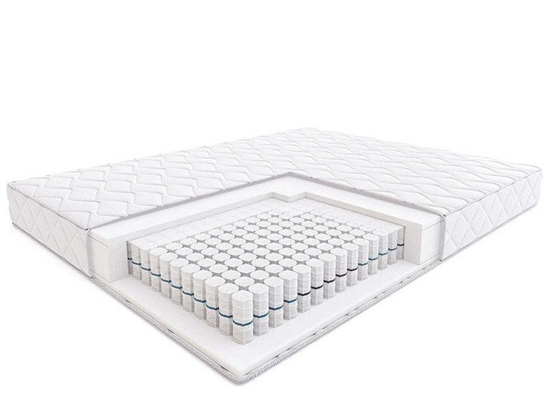 Materac STEP HILDING kieszeniowy : Rozmiar - 90x200, Pokrowce Hilding - Silver