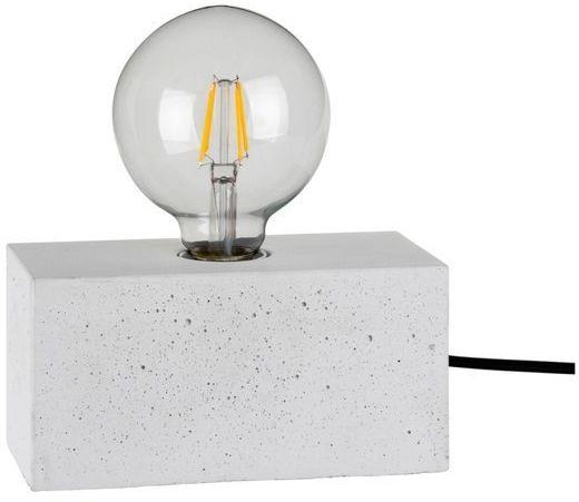 Lampa stołowa STRONG 1-punktowa lampa o białej betonowej podstawie 7370937