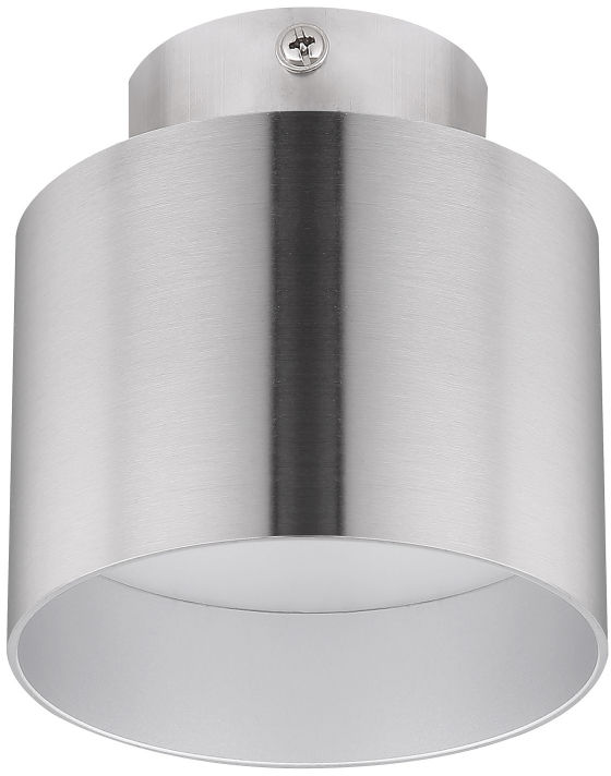 Globo JENNY 12015N plafon lampa sufitowa nikiel mat 1xLED 8W 1xLED 4W 4000K 9,8cm