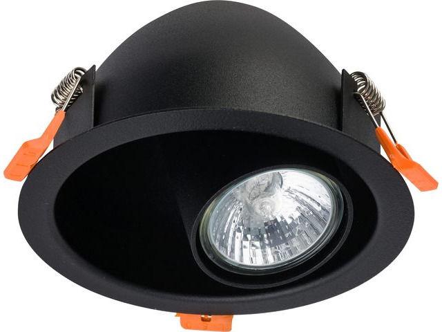 Oprawa wpuszczana Dot 8826 Nowodvorski Lighting czarna ruchoma oprawa sufitowa