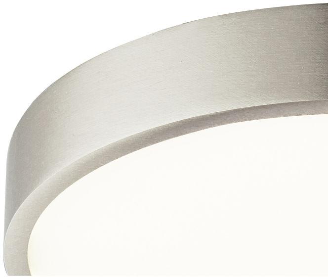 Globo VITOS 12366-30 plafon lampa sufitowa nikiel mat ściemniacz LED 28W 4000K 22cm IP44