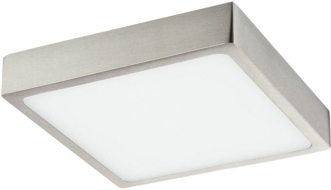 Globo VITOS 12367-15 plafon lampa sufitowa nikiel mat ściemniacz LED 15W 4000K 14,5cm IP44