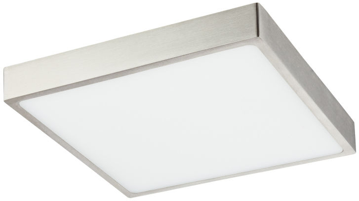 Globo VITOS 12367-22 plafon lampa sufitowa nikiel mat ściemniacz LED 22W 4000K 17cm IP44