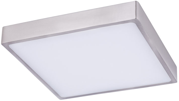 Globo VITOS 12367-30 plafon lampa sufitowa nikiel mat ściemniacz LED 28W 4000K 22cm IP44
