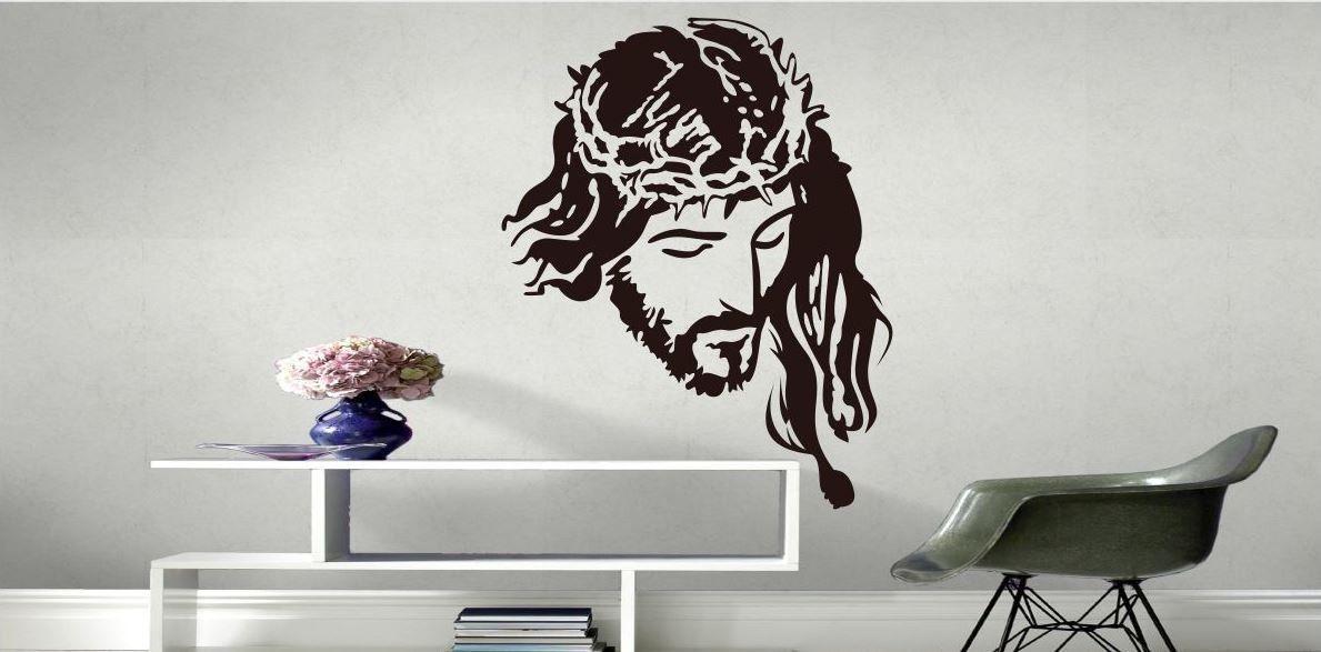 Naklejka postać Jezus