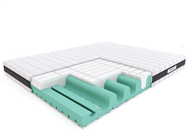 Materac ROCK&ROLL HILDING piankowy : Rozmiar - 80x200, Pokrowce Hilding - Tencel New