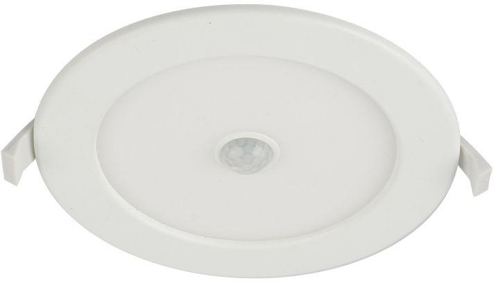 Globo UNELLA 12391-12S oprawa oświetleniowa zewnętrzna czujnik ruchu biała LED 12W 3000K 17cm IP44