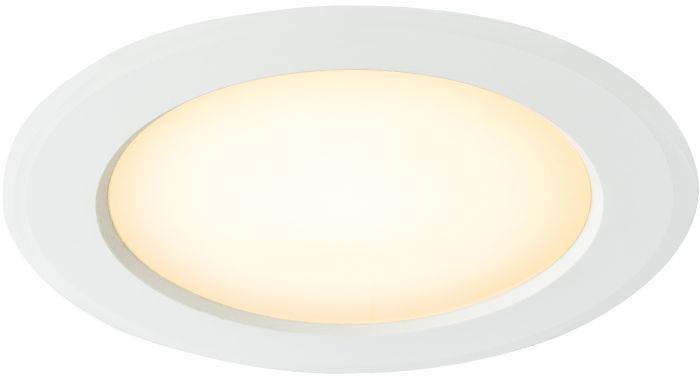 Globo POLLY 12394-15 oprawa oświetleniowa biała LED 15W 3000K 18,7 cm