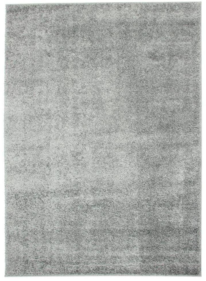 Dywan shaggy Evo jasnoszary 80 x 140 cm