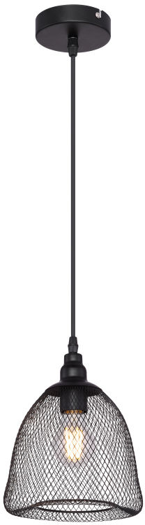 Globo ANYA 15047H1 lampa wisząca czarny mat 1xE27 60W 18,5cm