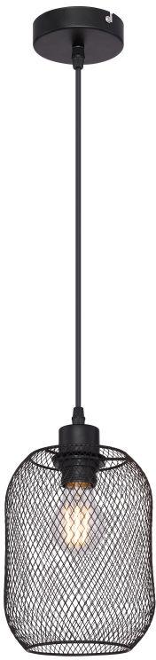 Globo ANYA 15047H2 lampa wisząca czarny mat 1xE27 60W 15cm