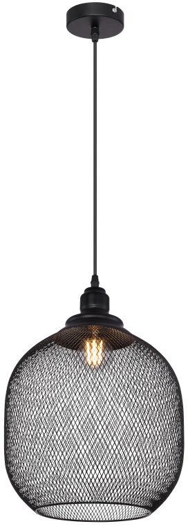 Globo ANYA 15047H5 lampa wisząca czarny mat 1xE27 60W 30cm