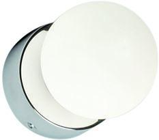 Kinkiet łazienkowy Brazos 6948 Nowodvorski Lighting kulista biała oprawa ścienna