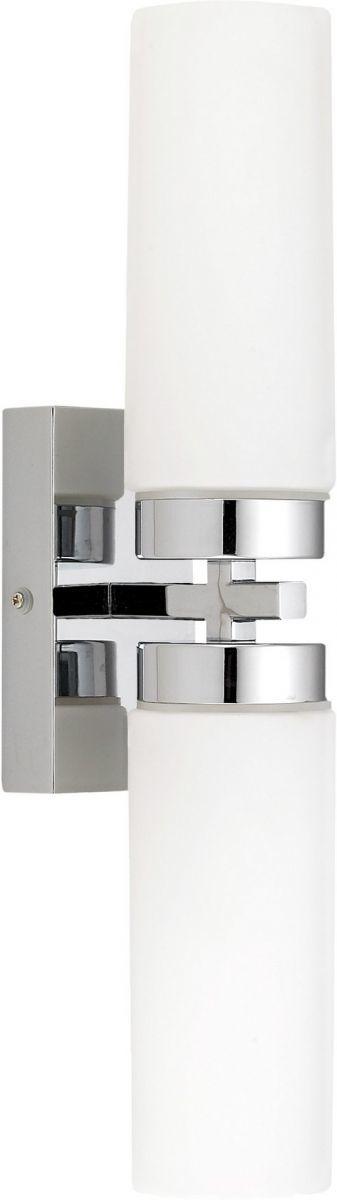 Kinkiet łazienkowy Celtic 3347 Nowodvorski Lighting podwójna oprawa w nowoczesnym stylu