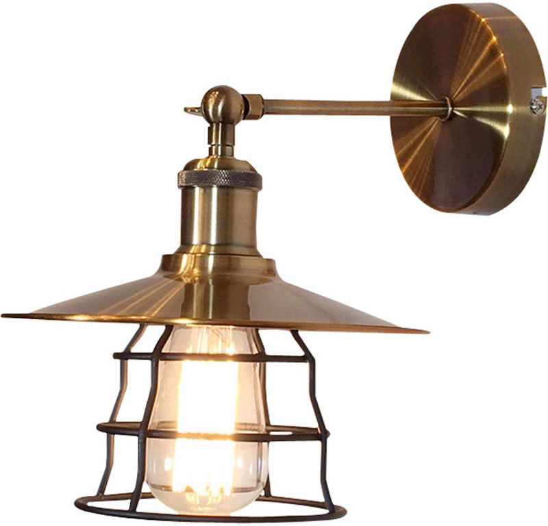 Globo VIEJO 15086W kinkiet lampa ścienna stare złoto 1xE27 60W 22cm