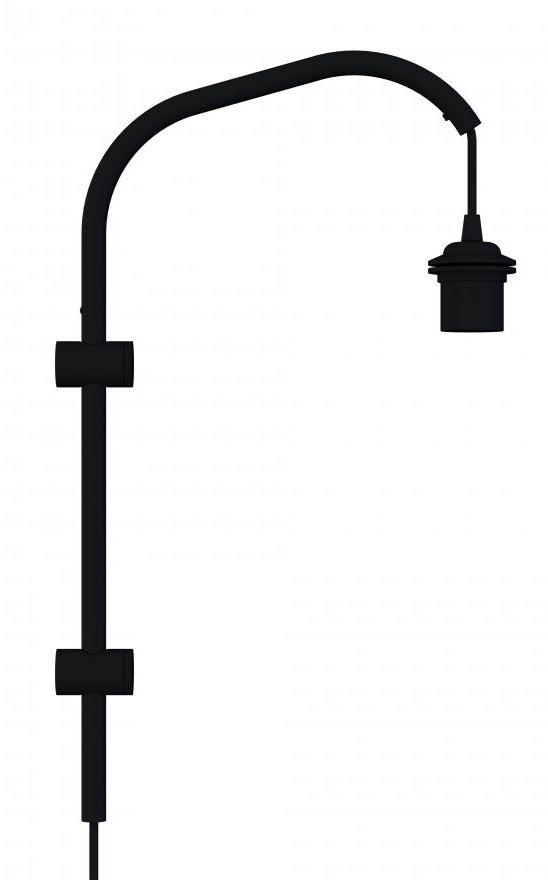 Uchwyt Willow mini 4151 UMAGE uchwyt na ścianę w kolorze czarnym