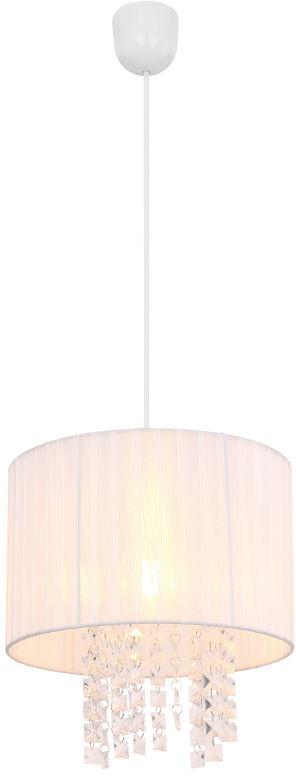 Globo PYRA 15098 lampa wisząca biała jasny 1xE27 60W 30cm