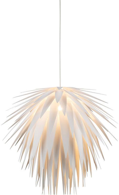 Globo NALA 15114 lampa wisząca biała 1xE27 60W 49,5cm