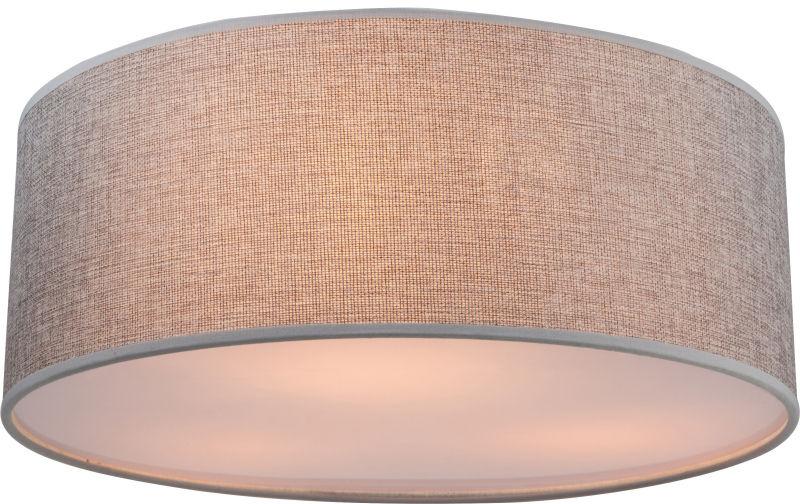 Globo PACO 15185D plafon lampa sufitowa szary 3xE14 40W 40cm