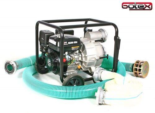 Motopompa, pompa spalinowa szlamowa Holida SCWP-30GT zestaw