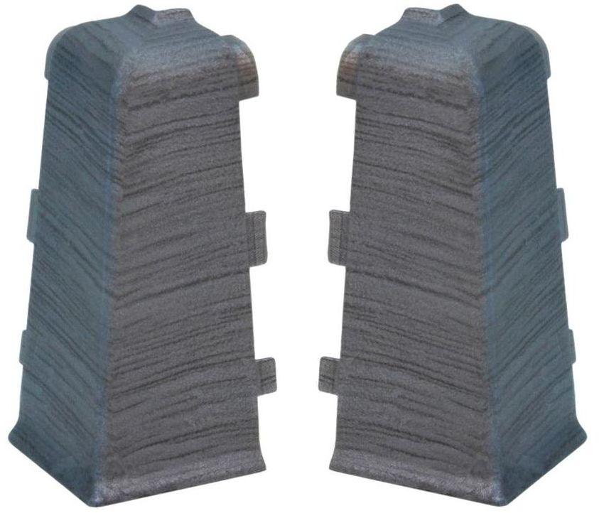 Narożnik zewnętrzny do listwy przypodłogowej Indo Aluminium Arbiton