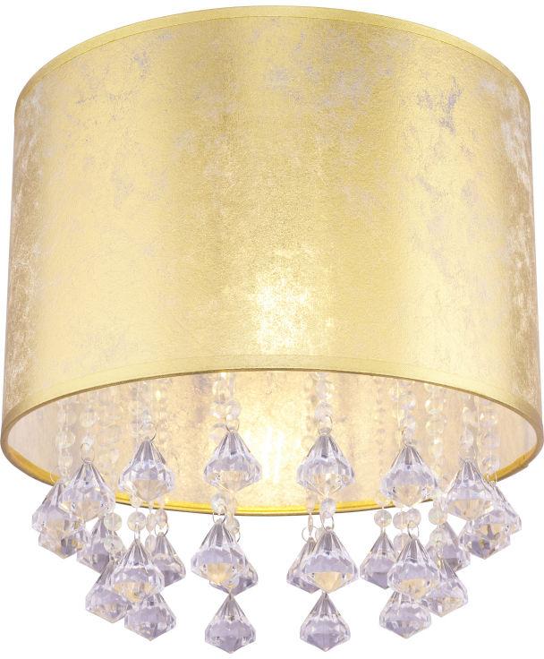 Globo AMY 15187D3S plafon lampa sufitowa przecierane złoto 1XE27 40W 30cm