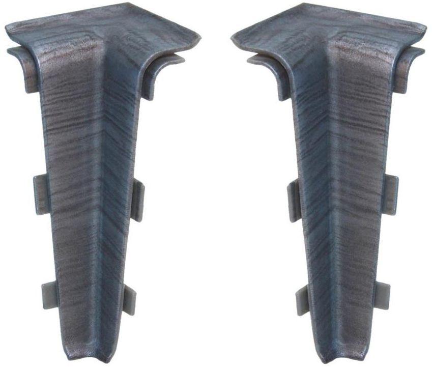 Narożnik wewnętrzny do listwy przypodłogowej Indo Aluminium Arbiton