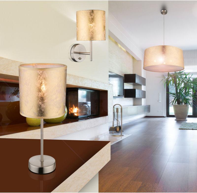 Globo AMY 15187W kinkiet lampa ścienna złoty 1xE14 40W 26cm