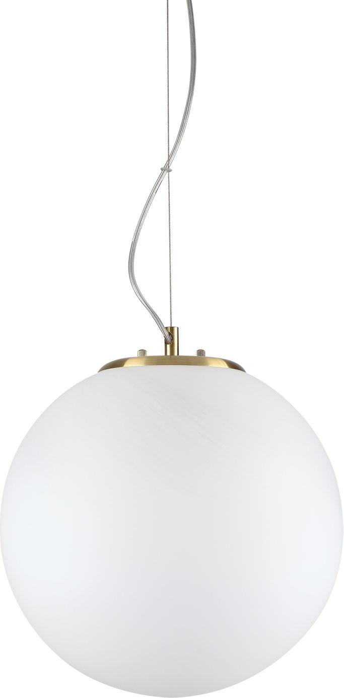 Lampa wisząca Grape 241357 Ideal Lux nowoczesna oprawa w kolorze białym i złotym