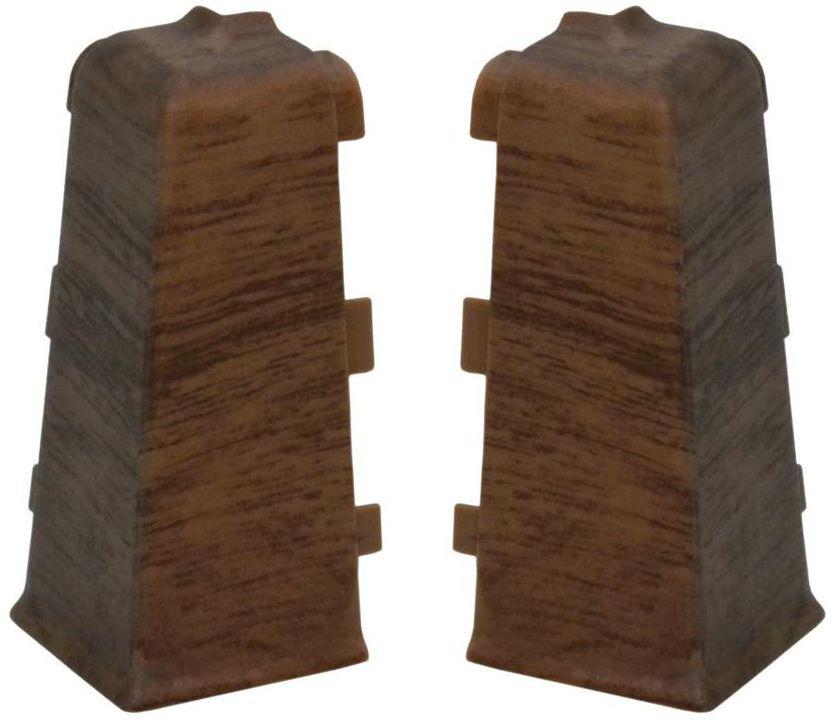 Narożnik zewnętrzny do listwy przypodłogowej Indo Dąb skalny Arbiton