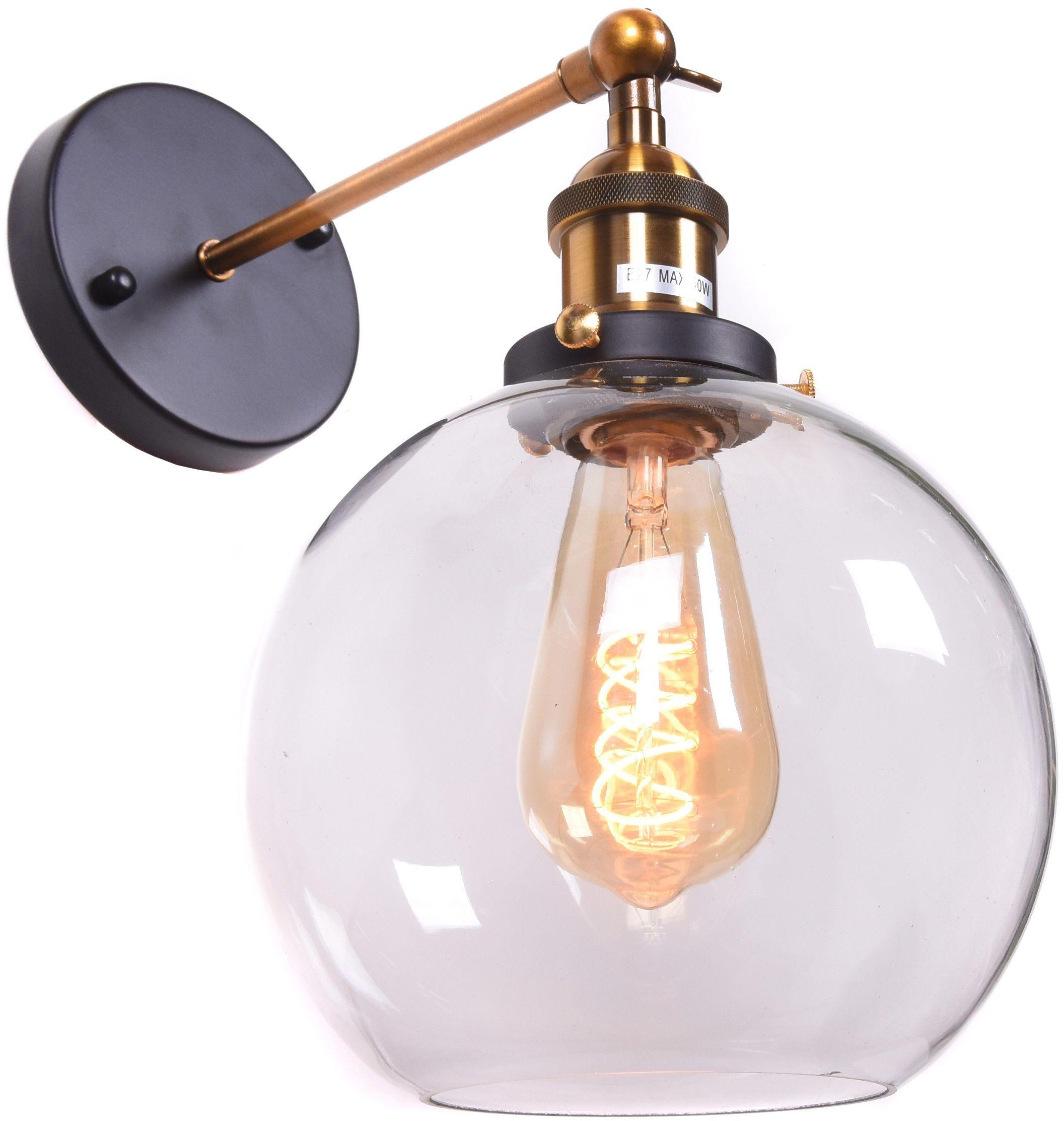 LAMPA ŚCIENNA KINKIET LOFT NAVARRO