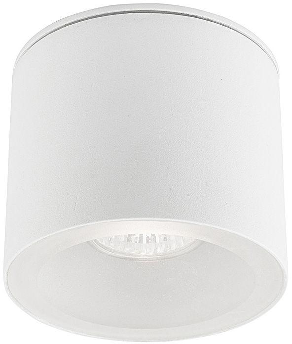 Plafon zewnętrzny Hexa 9564 Nowodvorski Lighting biała oprawa w kształcie tuby