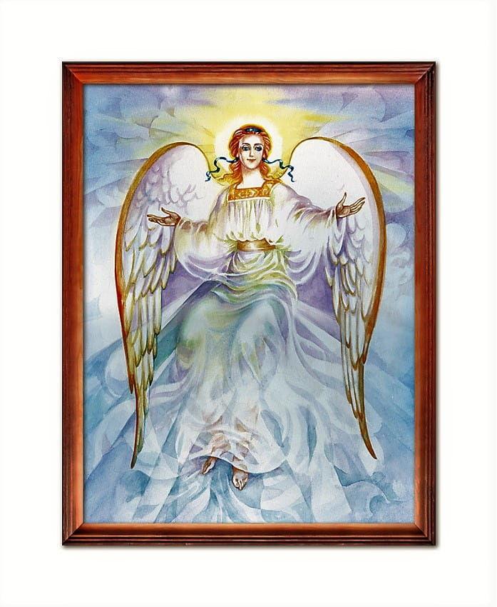 Obraz religijny z wizerunkiem Anioła