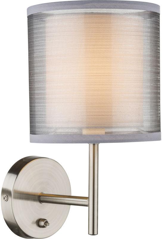 Globo THEO 15190W kinkiet lampa ścienna nikiel mat 1xE14 40W 26cm