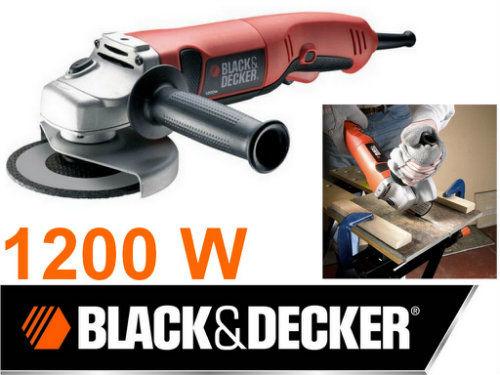 Szlifierka kątowa 1200W 125 mm BLACK&DECKER KG1200