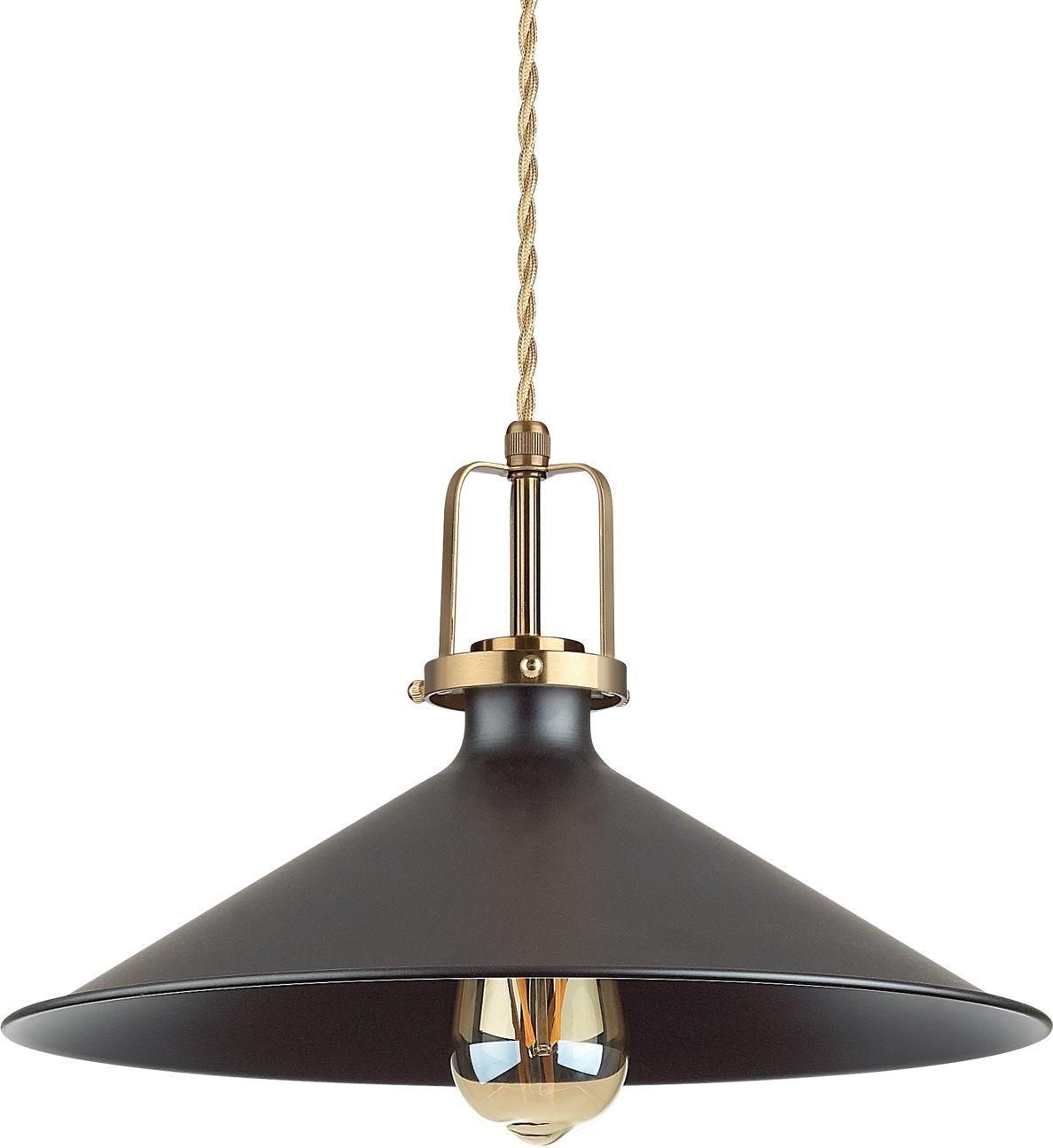 Lampa wisząca Eris 249087 Ideal Lux klasyczna oprawa w kolorze czarnym