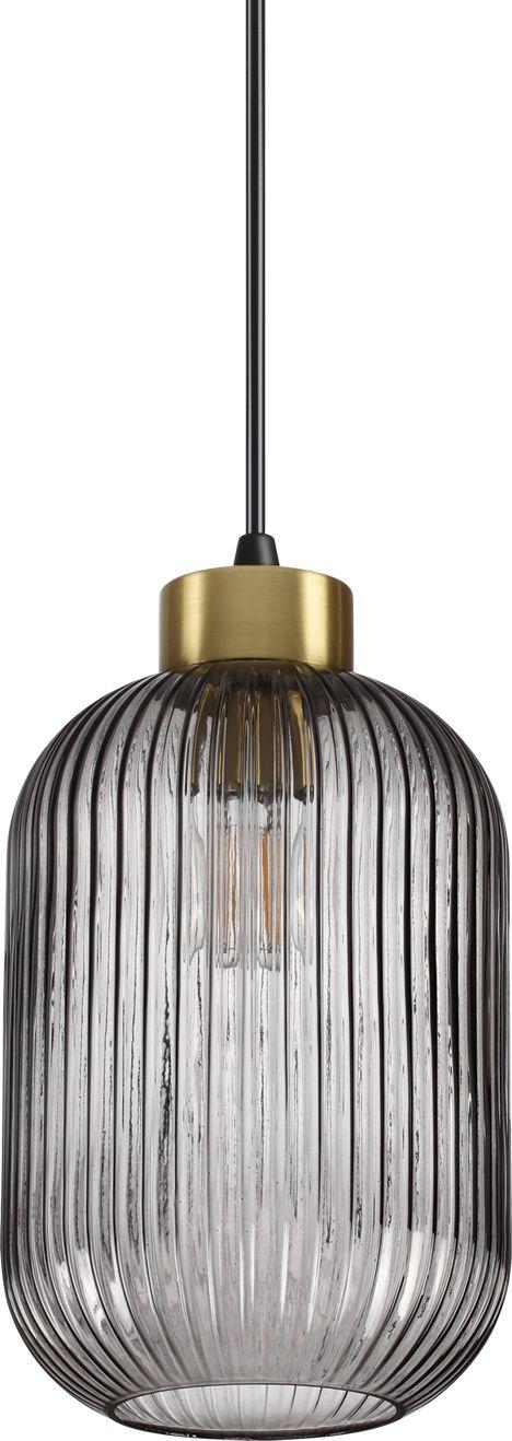 Lampa wisząca Mint 237442 Ideal Lux nowoczesna oprawa z dymionego szkła