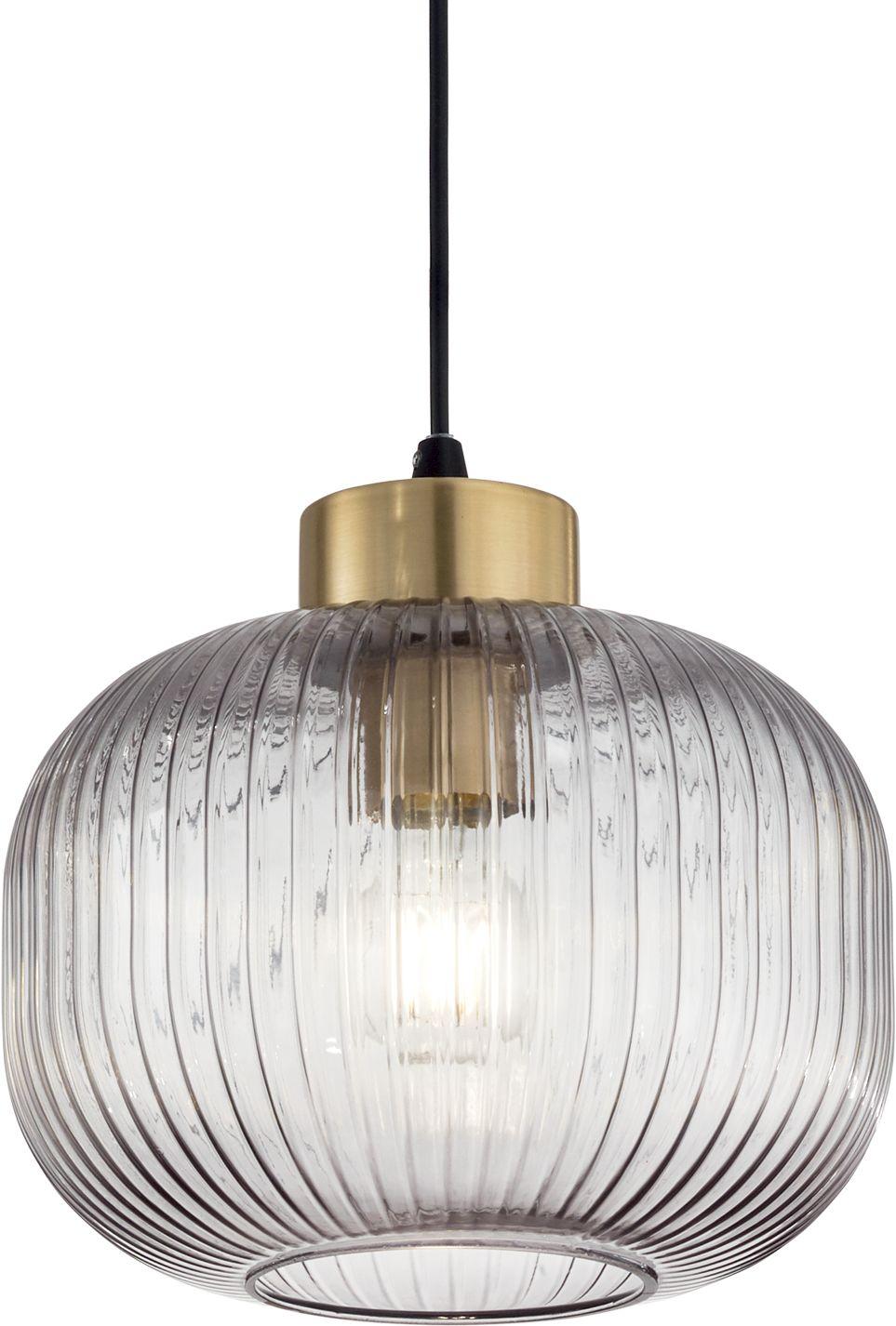 Lampa wisząca Mint Ideal Lux nowoczesna oprawa z przezroczystego szkła