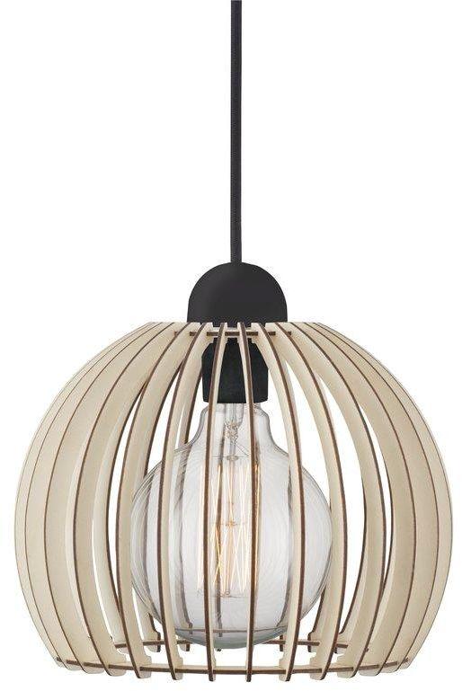Lampa wisząca Chino 25 84823014 Nordlux dekoracyjna ażurowa lampa z drewna